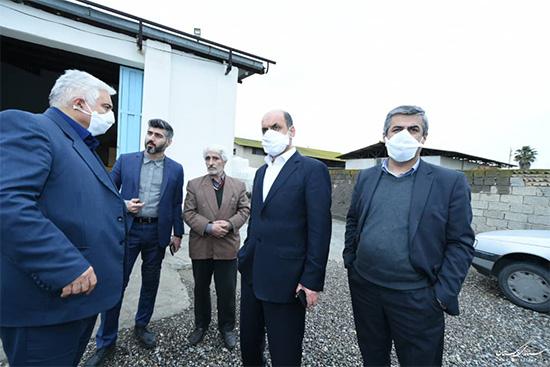 بازدید استاندار گلستان از شرکت رامین شیمی